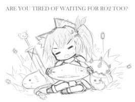 Tired of waiting RO2 by GreenTeaNeko