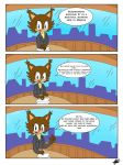 Prince Sonic Our First Adventure Page 1 by Mellissafox9