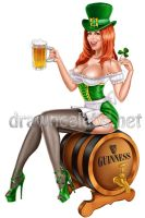 Bianca Beauchamp as Irish girl by rzhevskii
