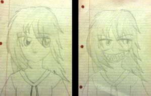 Jeff The Killer Before And After by KATEtheDeath1