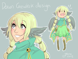 SS: Dawn [GrewKek Design] by Little-Miss-Boxie