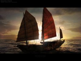 Mekong Dawn by Togman-Studio