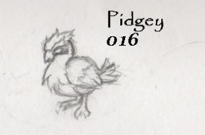 016-Pidgey by Giggles-the-Panda