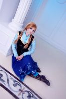 Frozen - It gets a little lonely by FirehawkCosplay