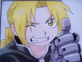 Edward Elric the Fullmetal Alchemist by Sherlock3000