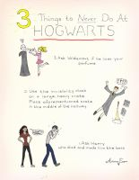 3 Things Never to do at Hogwarts by ari1nly