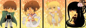 Chibis - Clamp by Willow-San