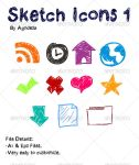 Sketch Icons 1 by agodesa