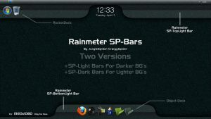 SP-Bars For Rainmeter by NoobGamer75