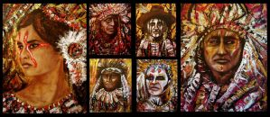 Native Art plate 2 by amoxes