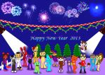 Happy New Year 2013 by zhangxin1024