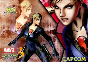 Jill Marvel vs Capcom 3 by AdaAlberto