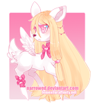 Commission for Niji-no-Ai [ Space Deer ] by riddlish
