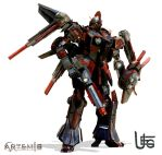 AXN-XX-01a  Full armanents by UEGProductions