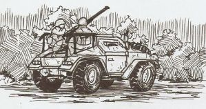 Armored Car by Shabazik