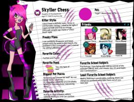 +Monster High OC+ Skyller Chess by The-Whiteless