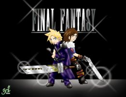 Cloud and Squall by 3niteam