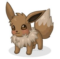 Pokemon :: Eevee 3 by sugar0coated