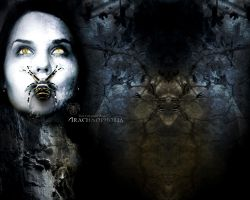 TCN Wallpaper - Arachnophobia by thiscatharticnail