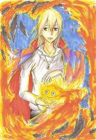 +Howl and Calcifer+ by Maff-chan