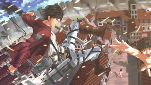 Shingeki no Kyojin by xenocracy