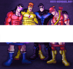 Sidekick Size Off (Censored) by ANTI-HEROES