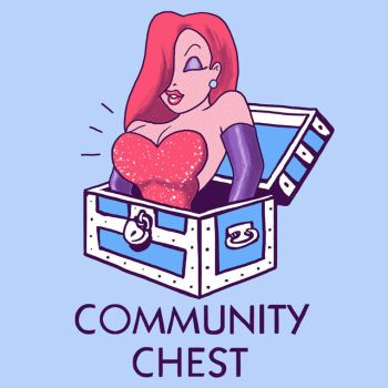 Community Chest by HillaryWhiteRabbit