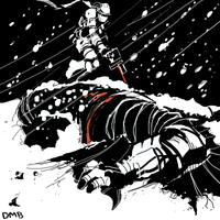 Snow- Batman vs Solid Snake by NoBullet