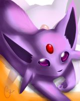 Espeon by Whimsy11