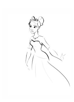 Tiana doodle by didouchafik