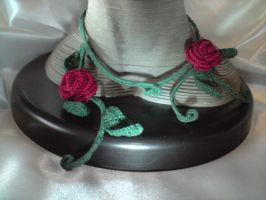 Crochet - Romantic Rose by Painou