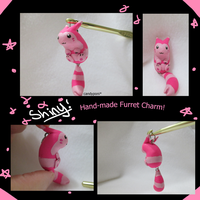 Hand-Made Shiny Furret Charm
