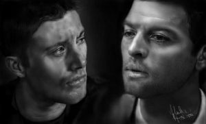Supernatural - DeanCas by Alivenger