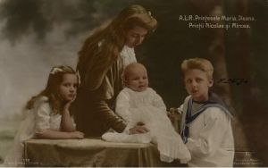 Youngest children in 1913 by Linnea-Rose