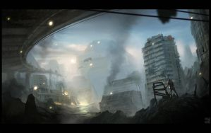 War Zone by Hideyoshi