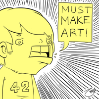 MUST MAKE ART by knitetgantt