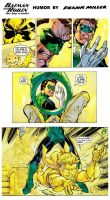 Batman and Robin The Boy Wonder Humor by Miller by StevenEly