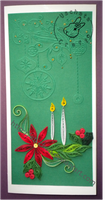 Quilling - card 129 by Eti-chan
