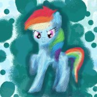 Rainbow Dash by ME0WER