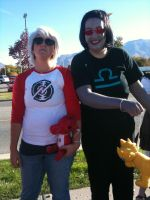 Anime Banzai 2012 Terezi and Dave by Fainting-Ostrich
