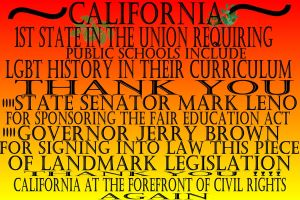 HISTORIC LEGISLATION IN CALIF by Furrymuscle