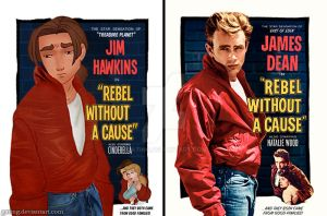 Rebel Without a Cause (Disney Version) by gating