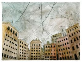 Mad walls wired sky by mikopol