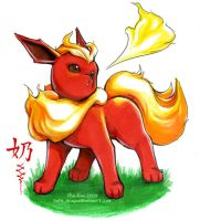 flareon by The-Nai