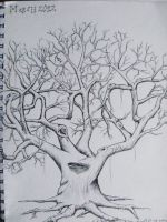 Peace Tree (New Cover for a New Sketchbook) (1) by ShanBrath
