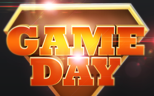 Game Day Isolated 3D Text Objects by loswl