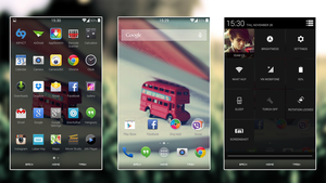 Android Kitkat 4.4 by t8ax