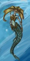 Naga Siren by whitelis