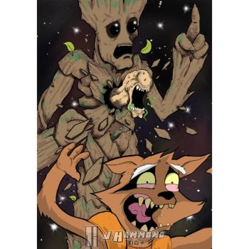 I am Groot?!?! by jhammondART