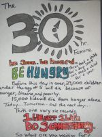 30 hour famine by cbrown1892